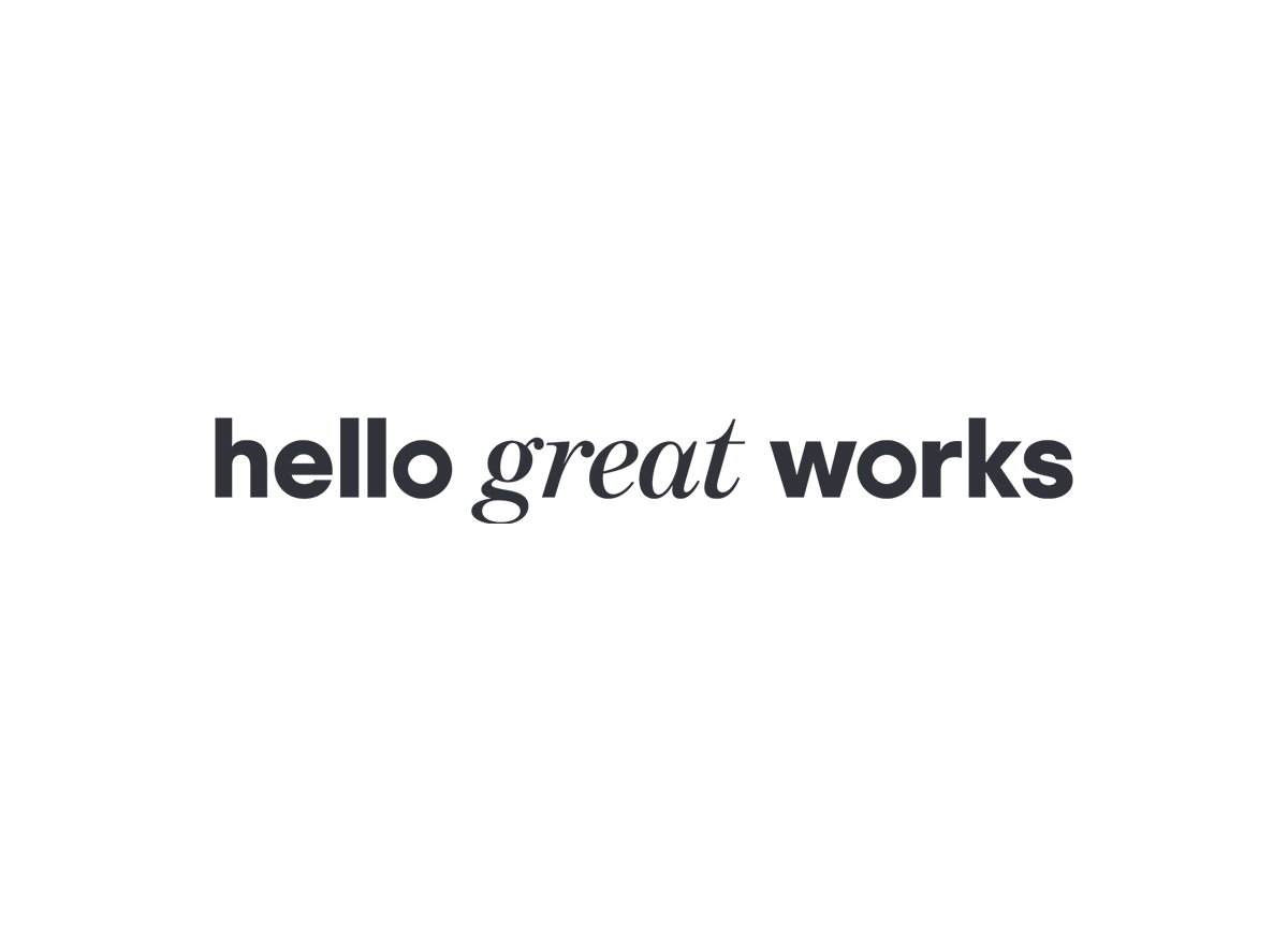 Hello Great Works