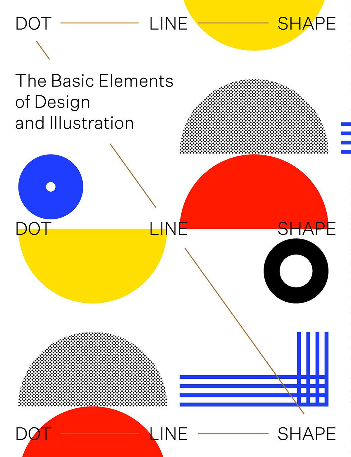 Dot Line Shape - The Basic Elements of Design and Illustration