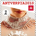 Belgian Post Celebrates Diamonds with Reena Ahluwalia's Bel Canto Postage Stamp