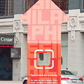Pole Position - Giant Red Arrows Point to Designers in DesignPhiladelphia