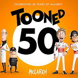 Tooned 50 - McLaren and Framestore Celebrate F1 Brand's 50th Birthday Anniversary