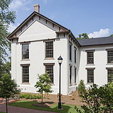 1874 Building Restored and Rehabilitated on Emory University's Historic Oxford College Campus