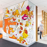 Frost* Creates Graphics for CBA Melbourne Office