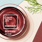 Pantone Color of the Year for 2015 - Marsala