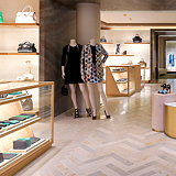 Mulberry Paris Store by Universal Design Studio