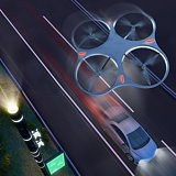 Flying Poles by Carlo Ratti Associati to Assist Drivers on Highway