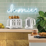 Seymourpowell Designs Domus Toaster and Kettle for Dualit