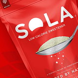 LRXD Designs Packaging for New Sugar Substitute Sola
