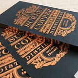 Nude Brand Creation Designs Identity for Surrey Copper Distillery
