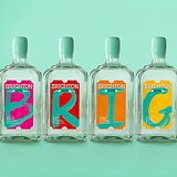 Our Design Agency 'Colour My World' with Brighton Gin's Pride Limited Edition
