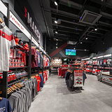Green Room Upgrades 'Saints Store' for Southampton Football Club