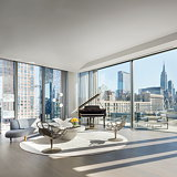 Penthouse Home Revealed Inside Zaha Hadid's West Chelsea Condominium