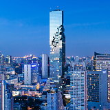 Opening of Observation Deck Marks Completion of Büro Ole Scheeren's Mahanakhon Tower in Bangkok