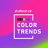Shutterstock's 2019 Color Trends Report Reveals Pink, Green and Purple as Top Colors Around the World