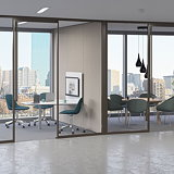 Teknion Releases New Glass Office-Front System Tek Vue