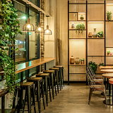 CRÈME Designs Mint Kitchen, an Israeli Fast Casual in West Village