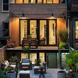 Crown Heights Brownstone by BFDO Architects