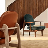 Fritz Hansen Lounge Chair JH97