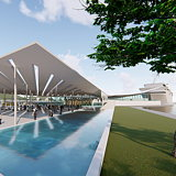 Berenblum Busch Architects Designs Uragashira Cruise Terminal for Carnival Corporation