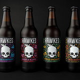 Robot Food Rebrands Hawkes