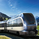 Pininfarina Unveils The Goldenpass Express