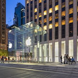 Apple and Foster and Partners Complete Fifth Avenue Apple Store