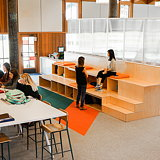 Studio O+A Redesigns Library for Stevenson School
