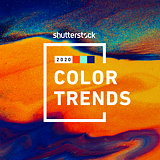 Shutterstock Reveals Fastest Growing Colors for 2020