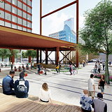 SWA/Balsley to Design Highline Plaza at Philadelphia's Schuylkill Yards