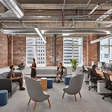 Studio O+A Designs Office Expansion for LiveRamp