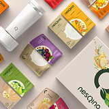 FutureBrand Partners with Nestlé to Create New Customizable Superfood Drinks Brand - nesQino
