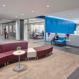 Main Line Health Women's Specialty Center in Pennsylvania by NELSON Worldwide