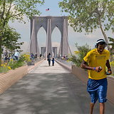 Van Alen Institute Announces Winners of 'Reimagining Brooklyn Bridge' Competition