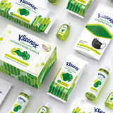 Echo Designs Packaging for Kleenex's Proactive Care Range