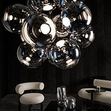 Tom Dixon Unveils BURST Chandelier