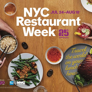 The Working Assembly Unveils Branding and Design for NYC Restaurant Week's 25th Anniversary