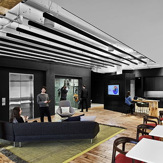 Prodigious' New Office by M Moser Associates