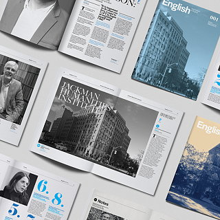 typotherapy Redesigns University of Toronto's English Magazine