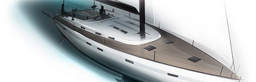 BMW Group DesignworksUSA Defines Silhouette of Bavaria's Biggest Yacht Ever - The Cruiser 55