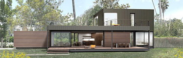 Marmol radziner prefab teams up with dwell magazine 39 s for Dwell prefab homes cost