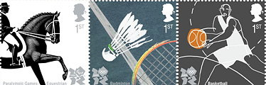 Studio David Hillman Designs Major Olympic Stamps Series for London 2012