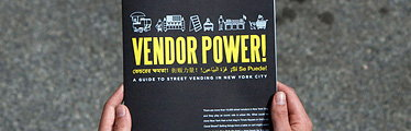 CUP's Vendor Power Poster at the Cooper-Hewitt National Design Triennial