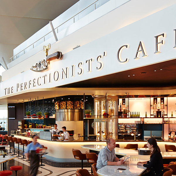 Seymourpowell Designs Brand Identity for Heston Blumenthal's the Perfectionists' Cafe