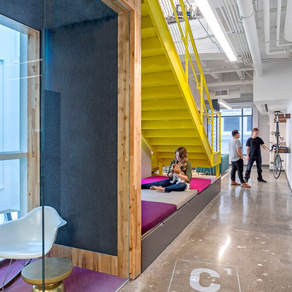 Capital One Lab by Studio O+A