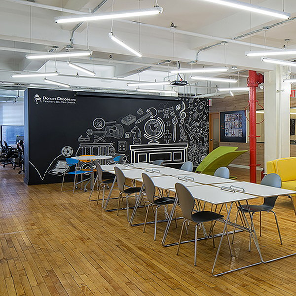 Eight Designs the New Donorschoose HQ in NYC
