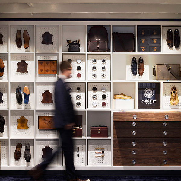 CK Designs New Retail Concept for Joseph Cheaney's Jermyn Street Flagship Store