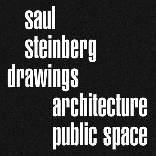 Saul Steinberg Drawings - Architecture Public Space