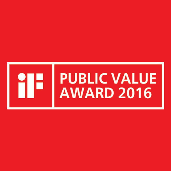 iF Public Value Award 2016