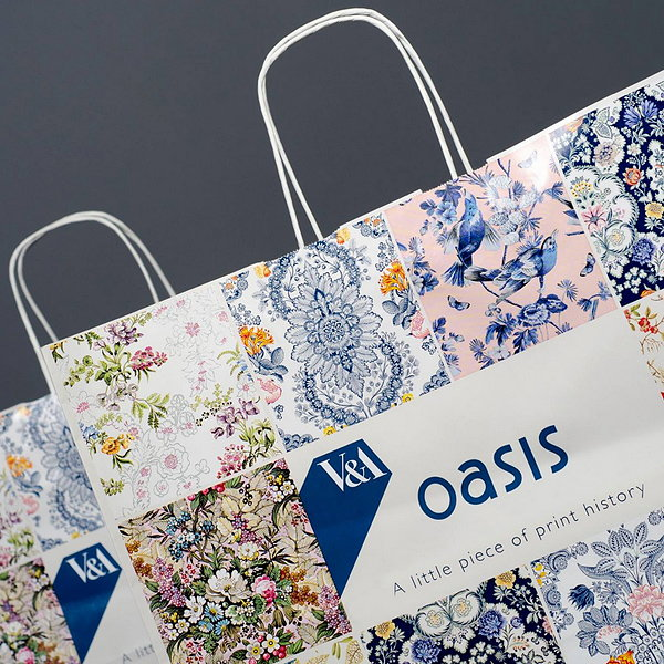 Keenpac Carrier Bag for Oasis V&A Fashion Collection