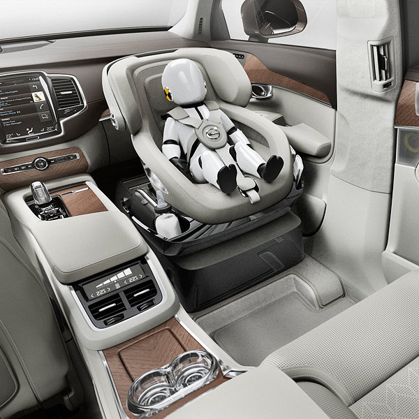 Volvo Unveils XC90 Excellence Child Seat Concept